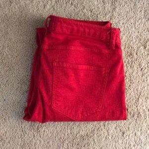 Scarlett Pants - Red Pants